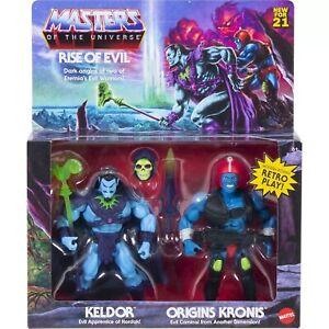 Masters Of The Universe Origins MOTU Keldor Kronis Rise of Evil 2 Pack - Target