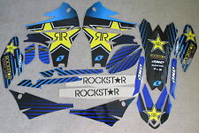 ONE INDST. ROCKSTAR  GRAPHICS & BACKGROUNDS  YAMAHA YZ450F YZF450 2010  11 12 13