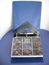 Star Trek The Next Generation Collector's Album 1994-1999 Trading Cards w Binder