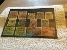 India States Stamps Lot
