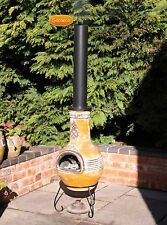 Chimenea Extension Chimney Steel Flue Extension Accessory Pipe Steel/Claychimena