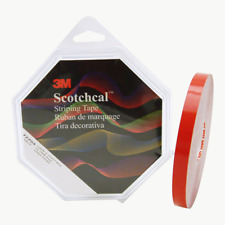 3M™ Scotchcal™ Striping Tape 72704, Red, 1/2 in x 150 ft