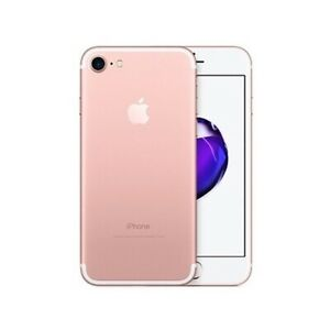 Apple iPhone 7 32GB- Rose Gold (Unlocked) A1660 (CDMA+GSM), 100% bttry health