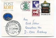 1984 ESRANGE Swedish Space Corporation Kiruna Sverige Polar Antarctic Cover