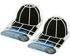 (2) BallCap Buddy Hat Cleaner Sport Curved Flat Bill Shaper Ball Cap Washer Snap