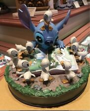 Disney Parks Medium Figure - Stitch with Ducks - The Ugly Duckling