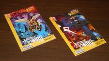 SPECIALE X-MEN LA BATTAGLIA DELL'ATOMO #1-2 ALPHA e OMEGA (Marvel World 21-22)