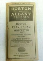 Antique Boston & Albany Railroad New York Central Lines to Schedule Dec 25 1920