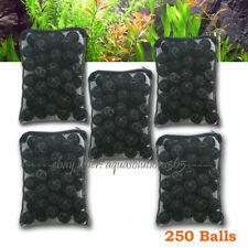"250 pcs Aquarium 1"" Bio Balls FREE Bag Filter Media Wet/Dry Koi Fish Pond Reef"