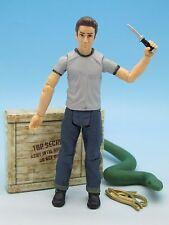 "Indiana Jones: Mutt Williams w/ Snake (Kingdom of Crystal Skull) 3.75"" Figure"