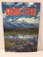 Vtg Grand Teton National Park Jackson Wyoming Picture Booklet Travel Souvenir