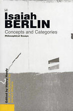 Concepts And Categories, Isaiah Berlin