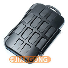 Waterproof Extremely tough Memory Card Case MC-1 for 4 CF cards 8 MS Pro DUO