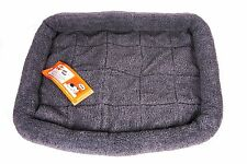"GoGo Thick and Comfy Fleece Dog Bed Puppy Bed - Gray - X-Large - 45"" x 32"""