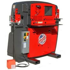 BRAND NEW EDWARDS 65 TON IRON WORKER - PLUS 9 ROUND PUNCH & DIE SETS -TOP SELLER
