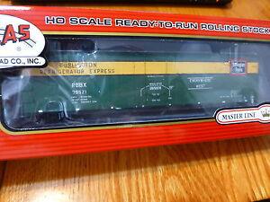 Atlas HO #20001365 Burlington (RBBX) #79521 (50' Plug Door Box Car)