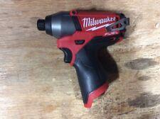 "Milwaukee Brushless  M12 FUEL 12v 2453-20  1/4"" Cordless Impact Driver NEW"