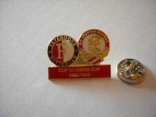 a1 FEYENOORD - SPARTAK MOSCOW cup uefa coppe delle coppe 1993 football pins