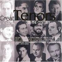 L.PAVAROTTI/P.SCHREIER/P.ANDERS/+ - GREAT TENORS OF THE CENTURY KLASSIK CD NEU