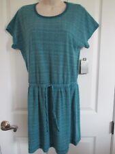 NWT - TEK GEAR Beach Short Sleeve Coverall Dress - sz M - Slip On - MSRP $48.00
