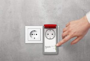 AVM FRITZ! DECT 210 intelligente Steckdose Smart Home Außenbereich