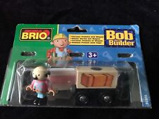 BRIO Bob the Builder Farmer Pickles and Wagon Train Set 32815. New in Package!