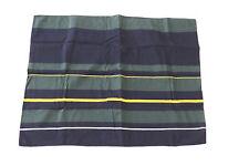 Nautica Wellesley Stripe Navy Green Yellow Standard Pillow Sham Nos