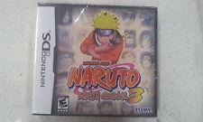 Naruto: Ninja Council 3 Nintendo DS Brand New & Sealed