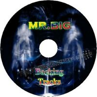 MR.BIG GUITAR BACKING TRACKS CD BEST GREATEST HITS MUSIC PLAY ALONG MP3 ROCK