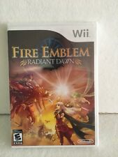 Fire Emblem: Radiant Dawn Nintendo Wii New and Sealed Still In Plastic