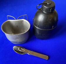 More details for bcb crusader mug & 58 pattern water bottle & kfs setbritish rations webbing