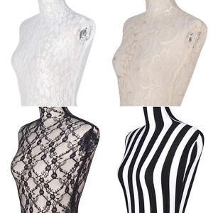Tops Mannequin Lace Cover Halfbody Decorations Stretched Exquisite Dress Form