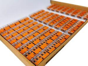 WAGO Klemmen 221 SET Compact Hebelklemme I 221-412 221-413 221-415 I Dosenklemme