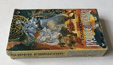 Prince Of Persia Nintendo Super Famicom NTSC-J Japanese JPN Boxed Jap Jp