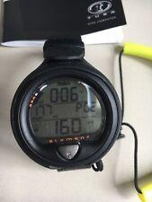 New listing TUSA IQ-650 ELEMENT Scuba Dive wrist strap Computer Black