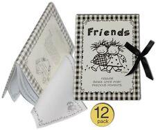 Journal / Autograph / Note Book / Diary (Wholesale Bulk Set of 12)