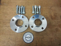 PEUGEOT 206 Hubcentric Spacers 20mm Wide & 8 Wheel Bolts STEEL WHEELS