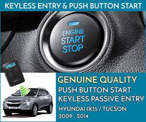 HYUNDAI IX35 Push Button Engine Ignition Start & Keyless Entry Installation