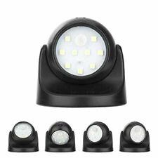 Battery Powered Wireless Motion Detector Auto Sensor Bulb LED Light Lamp 9 LED