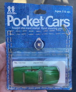 Tomy Pocket Cars Jaguar XJS 199-F68 MOC 1981