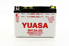 Yuasa 6N12A-2D 6V Conventional Battery NO ACID  YUAM2612d