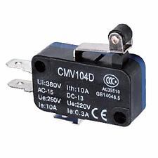 Micro Interruttore Switch Serie CMV Plastica 1NO+NC 10A 250V| 3X  CNTD-CMV-104-D