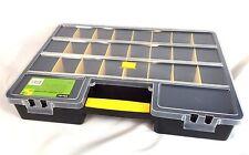 Plastic Tool Storage Box Case Organiser Multi Compartment 45 x 32 x 7.5 cm