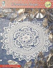 White Christmas Doily Crochet Pattern - Christmas Magic HOWB Series