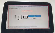 "Samsung Google Nexus 10 GT-P8110 16GB Wi-Fi 10"" Black See Actual Pictures"