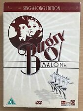 Jodie Foster BUGSY MALONE 1978 Teen Gangster Musical Classic UK DVD w/ Slipcover