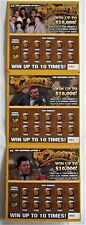 Cheers TV Show Instant SV Lottery Ticket Set of 3