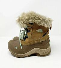 The North Face Heat Seeker Waterproof Winter Boots Girl's Sz US 10 16.5cm