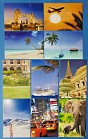 Set of 10 NEW Mixed Postcards great for Postcrossing & Postcardsofkindness set 1