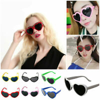 Sunglasses Love Heart Shaped Lolita Sunglasses Anti UV Holiday Beach Accessories